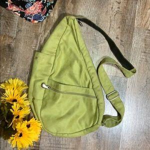 Ameribag | Classic Green Microfiber Back Pack Bag